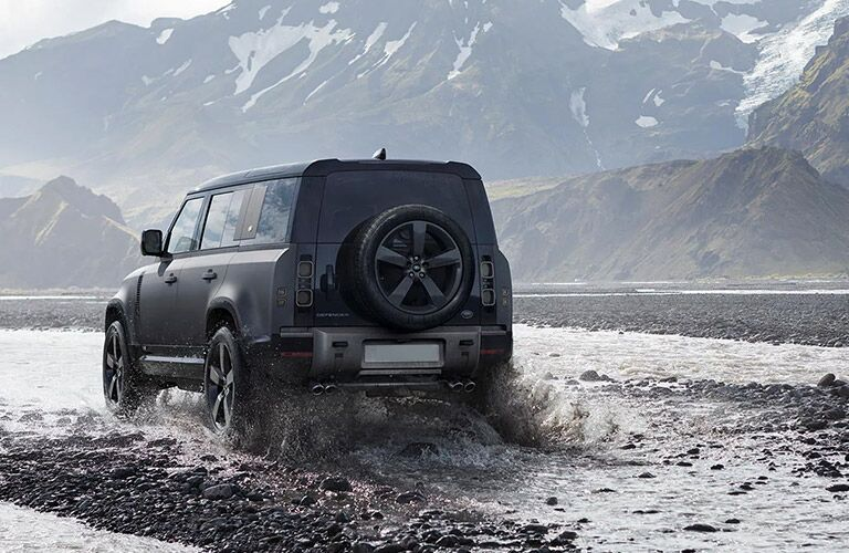 2022 Land Rover Defender 110 from rear