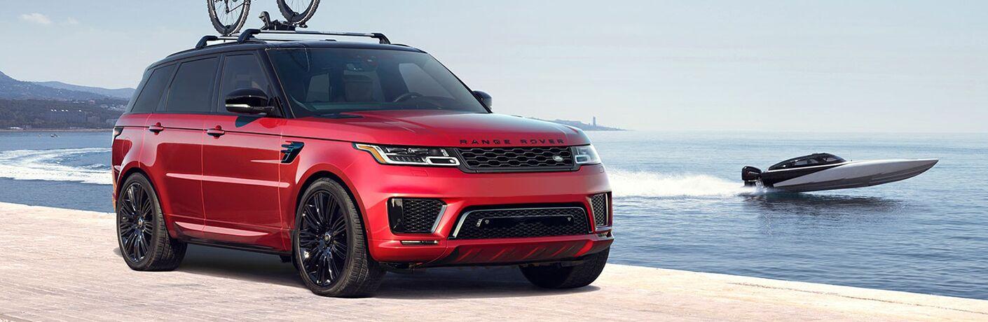 2022 Land Rover Range Rover Sport on beach