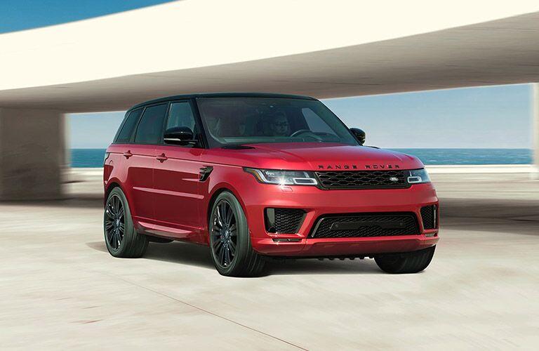 2022 Land Rover Range Rover Sport on pavement