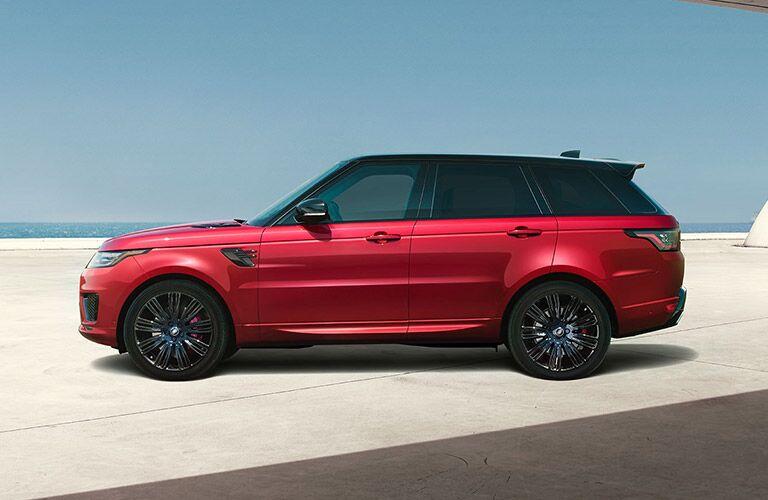 2022 Land Rover Range Rover Sport side profile