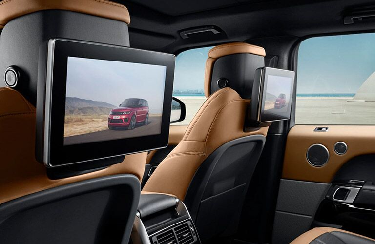 2022 Land Rover Range Rover Sport entertainment system
