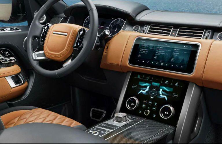2020 range rover interior