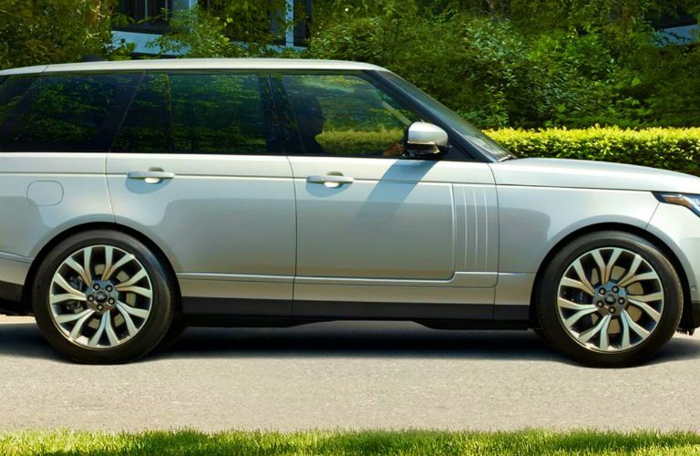 profile of 2020 land rover range rover