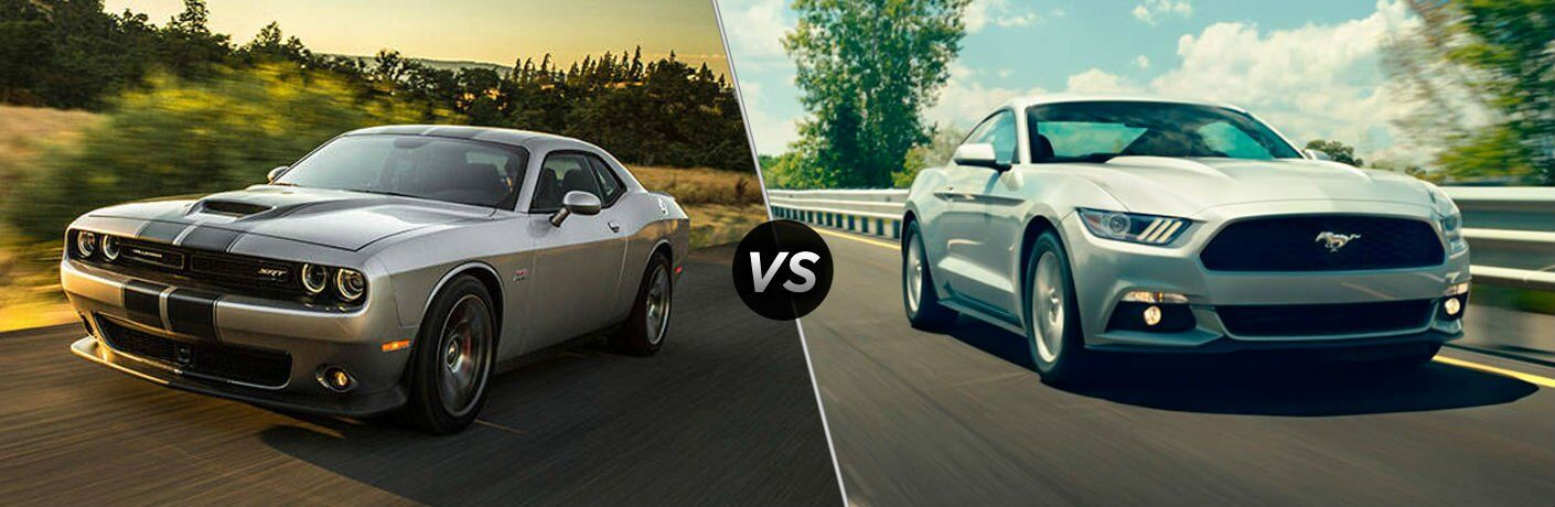 2017 dodge challenger vs 2017 ford mustang. Cars Review. Best American Auto & Cars Review