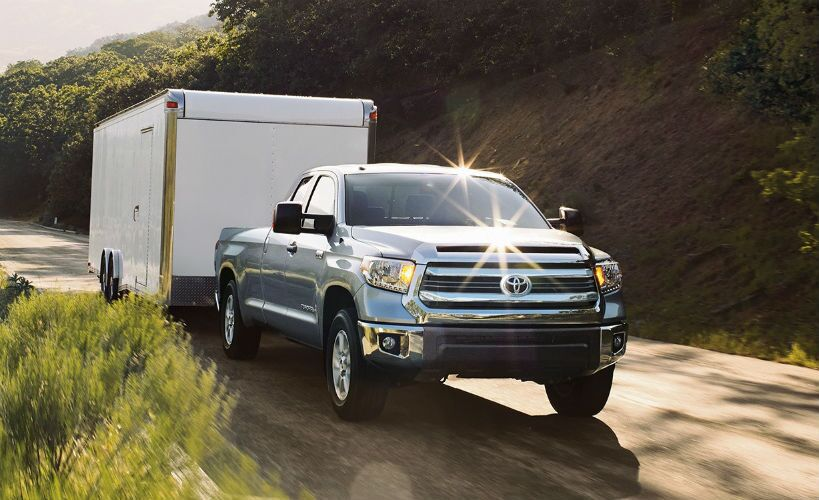 2016 Toyota Tundra vs. 2016 Nissan Titan full size truck towing and performance Mike Johnson's Hickory Toyota NC