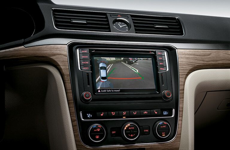 2016 VW Passat interior touchscreen