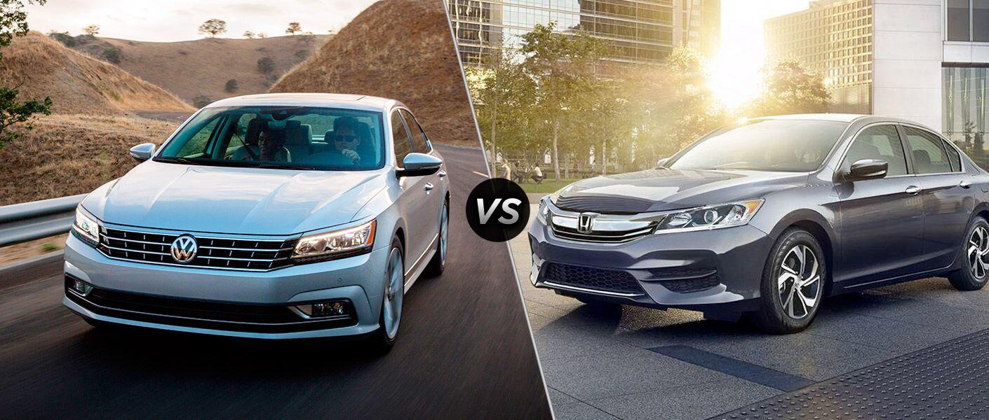 2016 Volkswagen Passat vs. 2017 Honda Accord