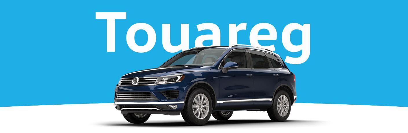 blue 2016 Volkswagen Touareg exterior