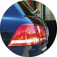 2016 VW Touareg taillight
