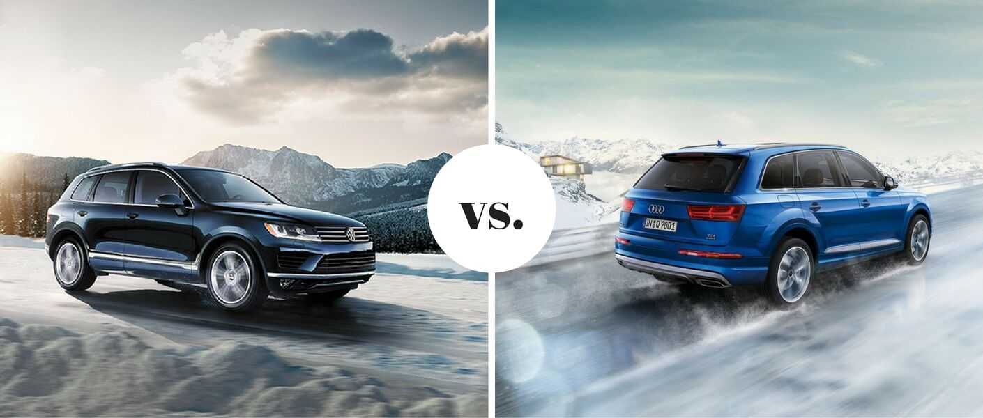 2016 Volkswagen Touareg vs. 2017 Audi Q7