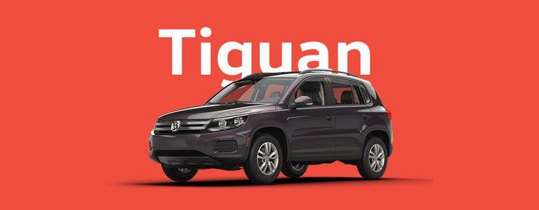 black 2016 Volkswagen Tiguan exterior