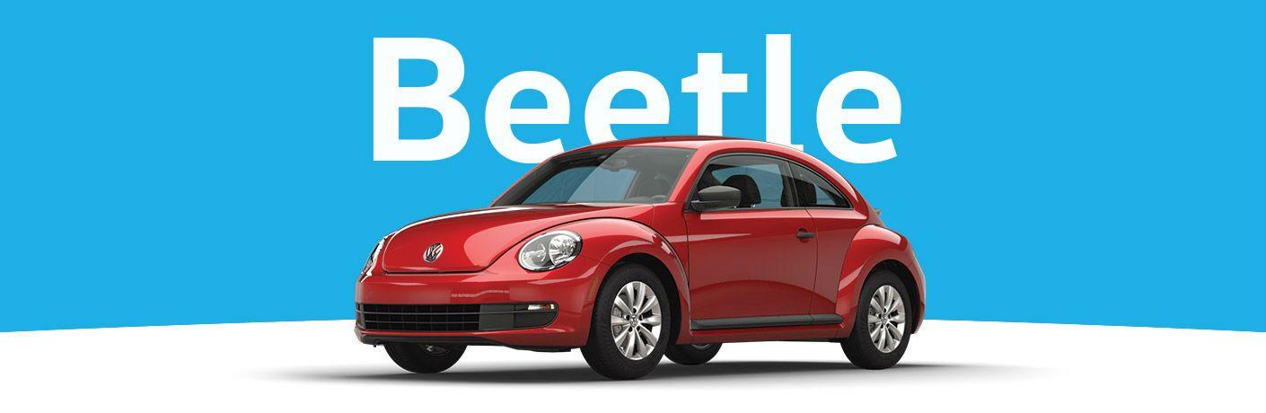 2016 Volkswagen Beetle with red exterior