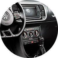 2016 VW Beetle interior dashboard