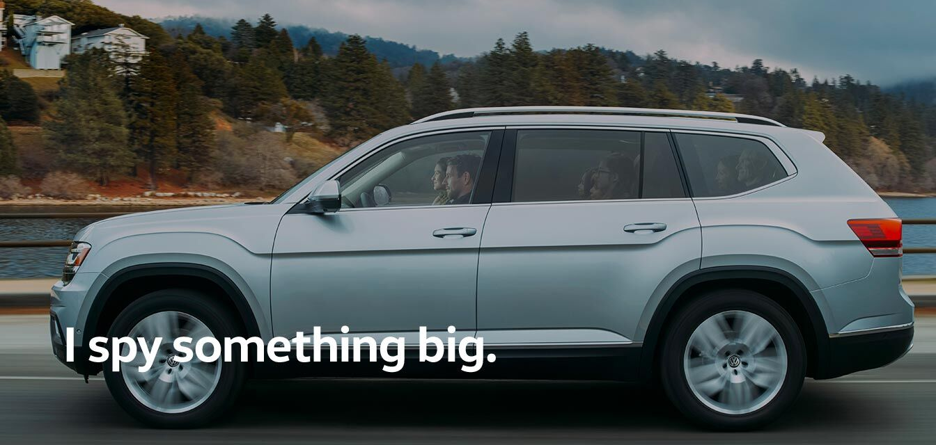 VW Atlas: I spy something big.