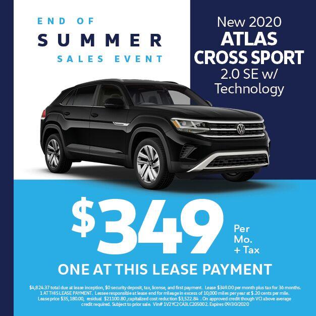 2020 Volkswagen Atlas Cross Sport 2.0T SE w/Technology