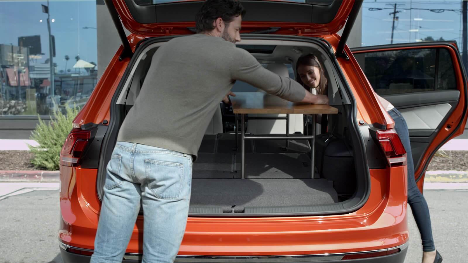 2019 Volkswagen Tiguan Interiors