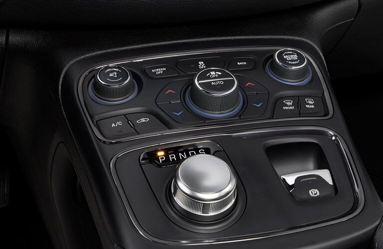Dashboard controls on the 2016 Chrysler 200