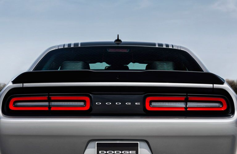 2016 Dodge Challenger from behind