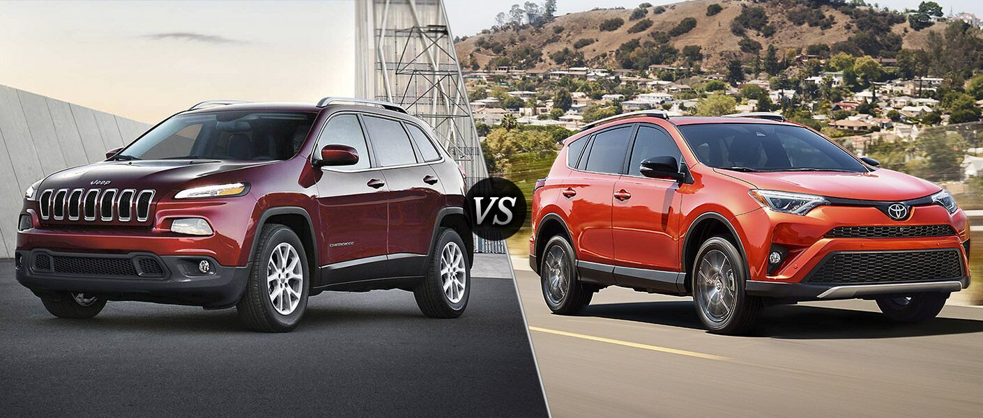 2016 Jeep Cherokee vs 2016 Toyota RAV4