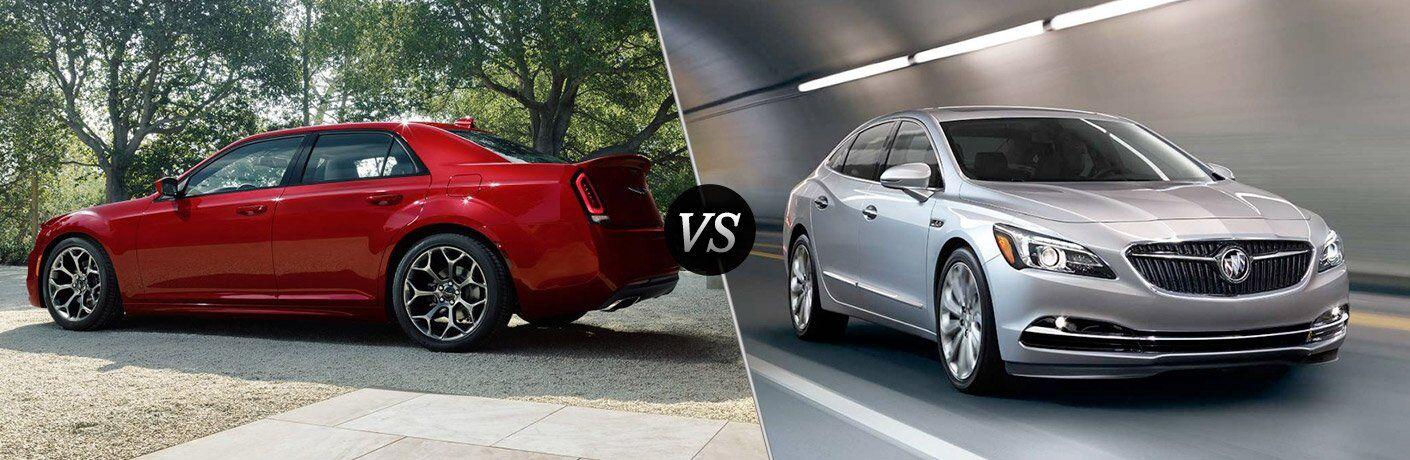2017 Chrysler 300 vs 2017 Buick LaCrosse