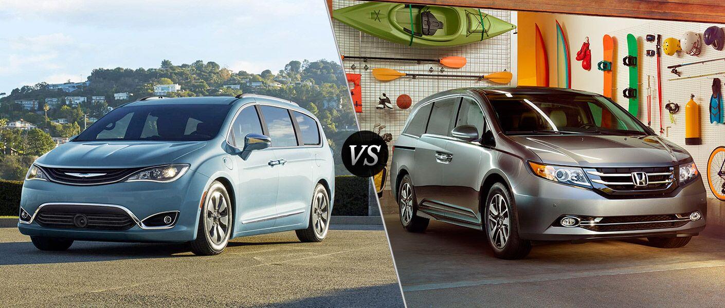 2017 Chrysler Pacifica vs 2016 Honda Odyssey