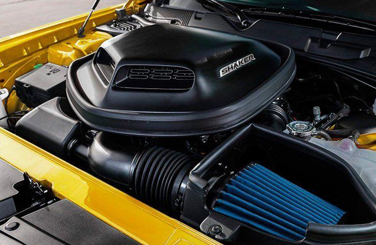 elite engine on one trim of the 2017 Dodge Challenger
