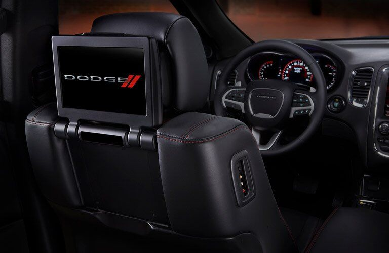 2017 Dodge Durango passenger display
