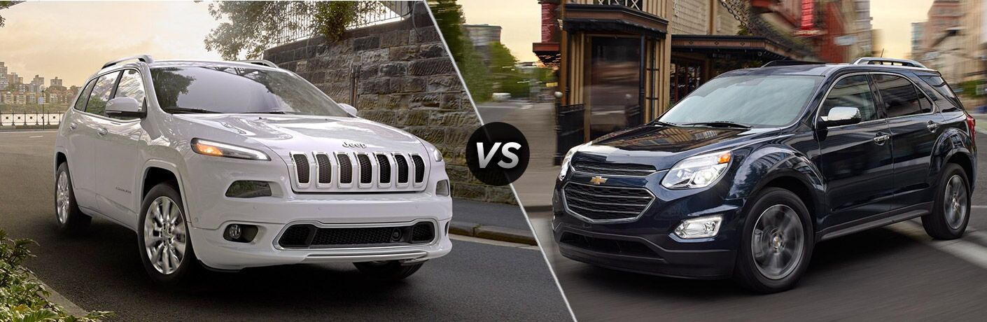 2017 Jeep Cherokee vs 2017 Chevy Equinox