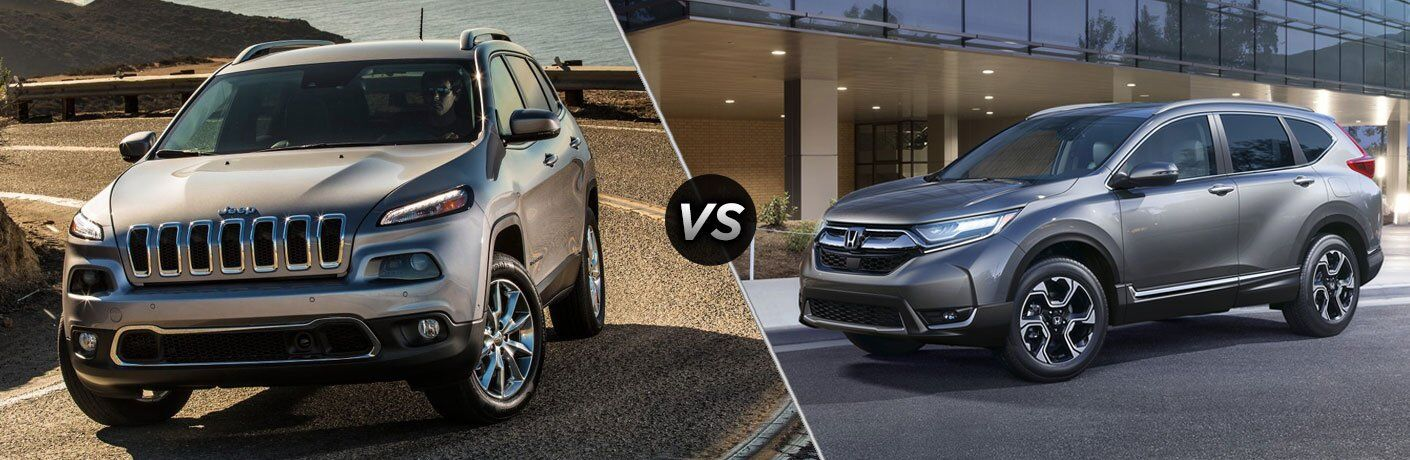 2017 Jeep Cherokee vs 2017 Honda CR-V