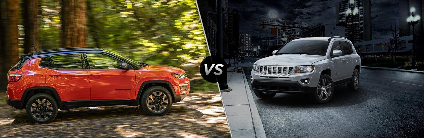 2017 Jeep Compass vs 2016 Jeep Compass