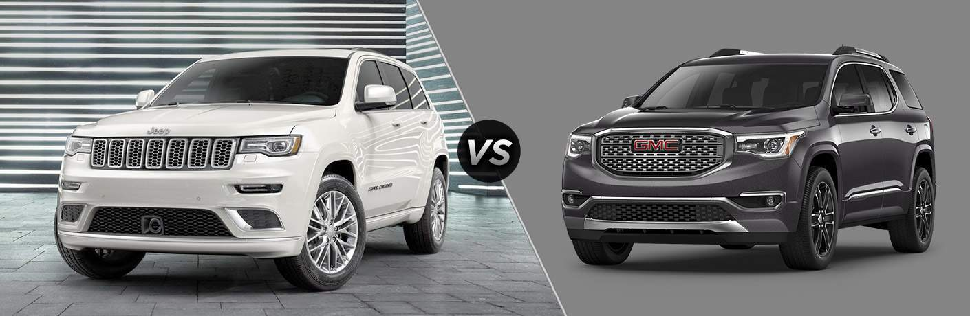 2017 Jeep Grand Cherokee vs 2017 GMC Acadia