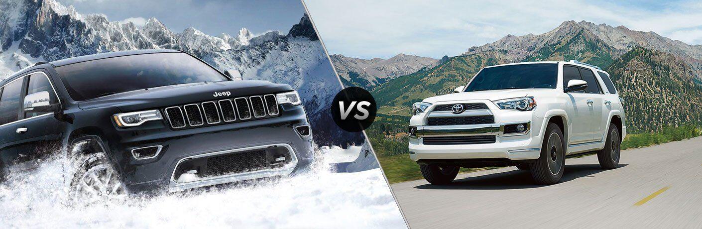 2017 Jeep Grand Cherokee vs 2017 Toyota 4Runner