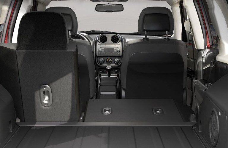 rear folding seats of the 2017 Jeep Patriot
