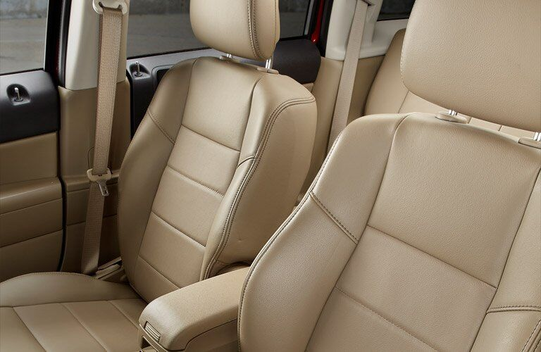 front seats of the 2017 Jeep Patriot