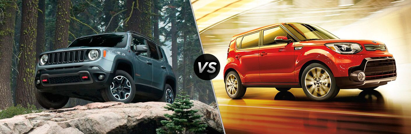 2017 Jeep Renegade vs 2017 Kia Soul