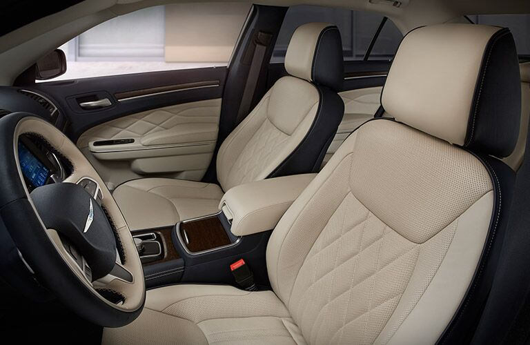 front seats of the 2017 Chrysler 300