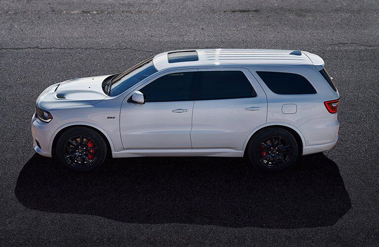 side view of the 2018 Dodge Durango SRT
