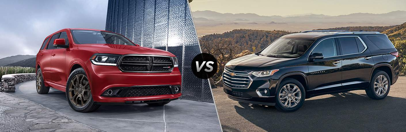 2018 Dodge Durango Vs 2018 Chevy Traverse