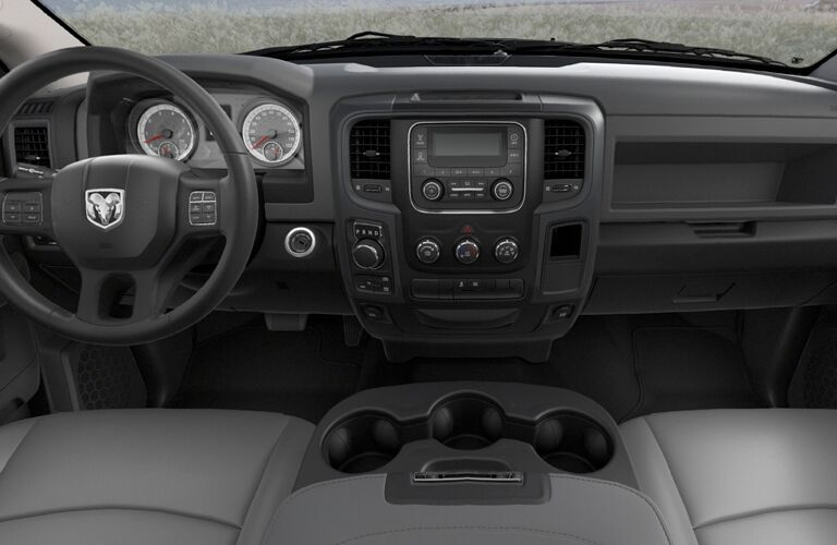 dashboard of the 2018 Ram 1500