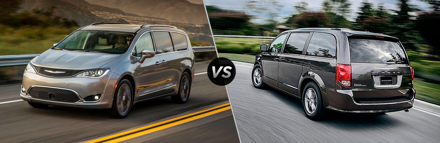 2019 Chrysler Pacifica vs 2019 Dodge Grand Caravan