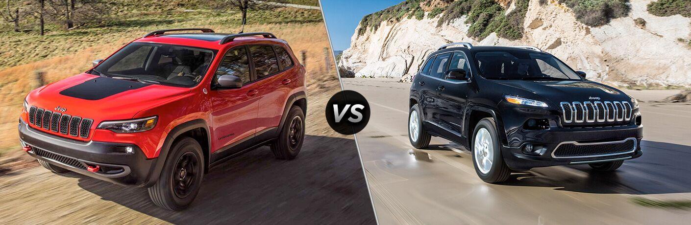 2019 Jeep Cherokee vs 2018 Jeep Cherokee
