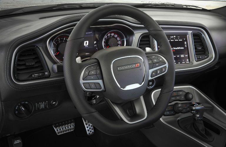 2020 Dodge Challenger steering wheel