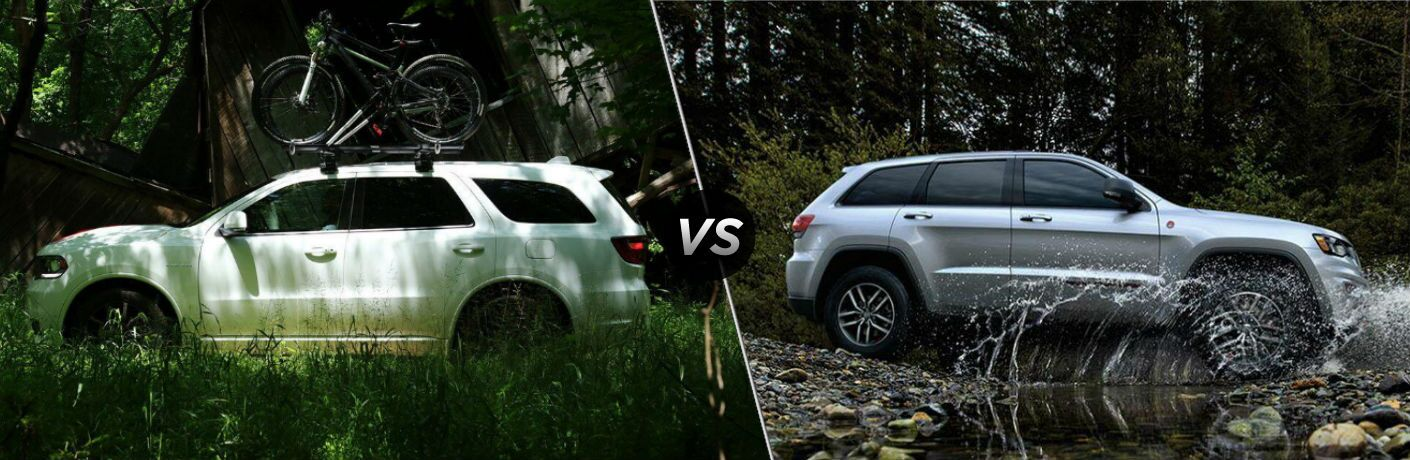 2020 Dodge Durango vs 2020 Jeep Grand Cherokee
