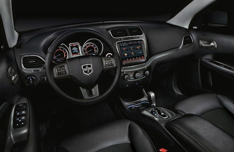 Interior view of 2020 Dodge Journey