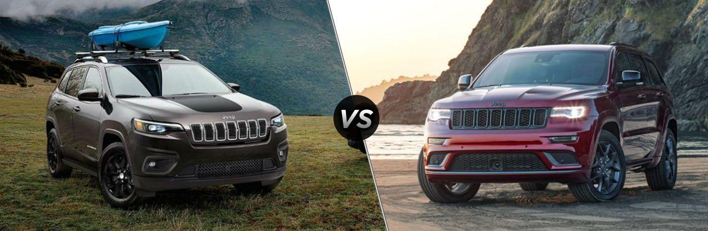 2020 Jeep Cherokee vs 2020 Jeep Grand Cherokee
