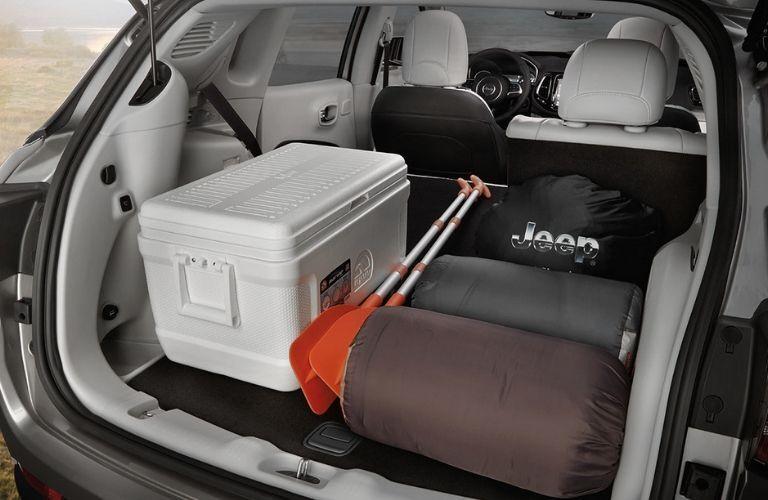 2020 Jeep Compass rear cargo area