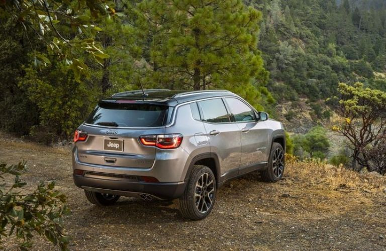 2020 Jeep Compass viewed from rear