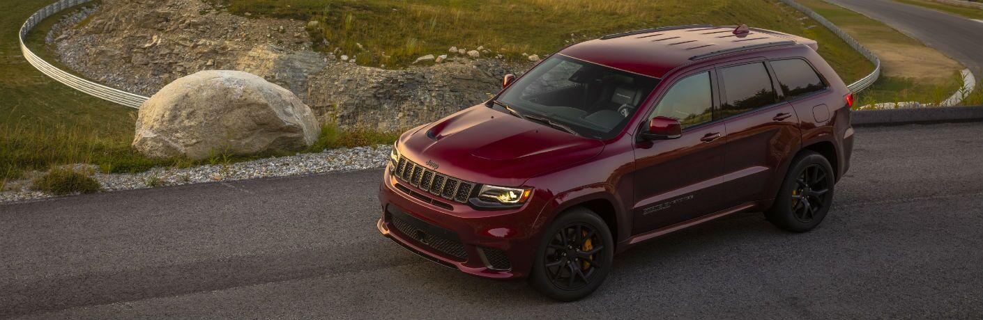 Maroon 2020 Jeep Grand Cherokee