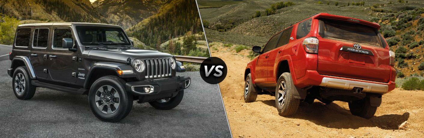 2020 Jeep Wrangler vs 2020 Toyota 4Runner