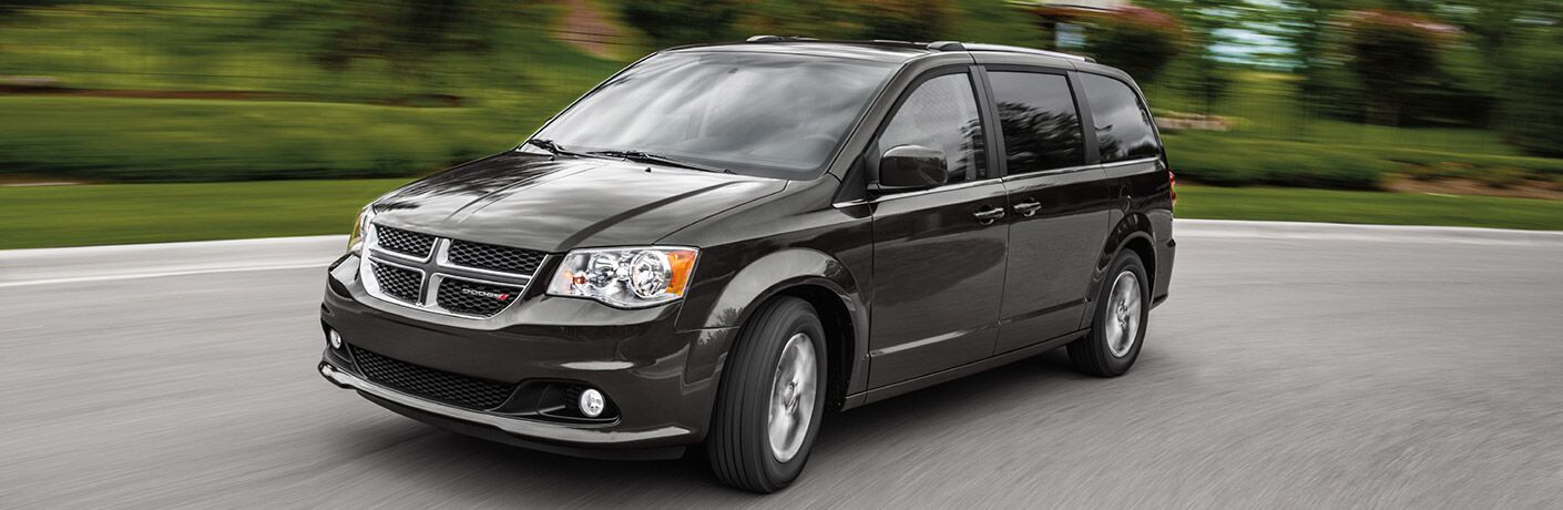2020 Dodge Grand Caravan on pavement